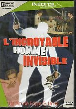 * L'Incroyable homme invisible - DVD ~ Boyd Morgan - NEUF