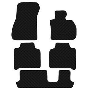 BMW 2 Series Gran Tourer 2015+ Onwards Black Floor Tailored Rubber Car Mats