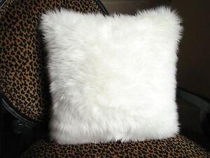 Sheepskin Lambskin Pillow Cover 45cm