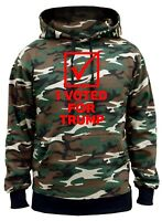Men's I Voted For Trump Camo Hoodie Donald USA President American Leader V201