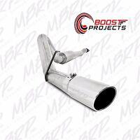 "MBRP EcoBoost 3.5L 4"" Cat-Back Polished Tip Exhaust for 11-14 Ford F150 S5248AL"
