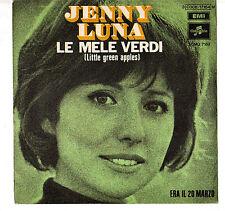 "JENNY LUNA. LE MELE VERDI. SOLO COPERTINA ONLY COVER 7"" EMI-COLUMBIA"