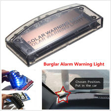 1pcs 6LED Car Dash Blue Burglar Alarm Warning Strobe Flash Light Anti-theft Lamp