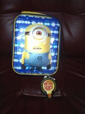 DESPICABLE ME INSULATED LUNCH BAG WITH MOTION LIGHTS NEW W/TAGS