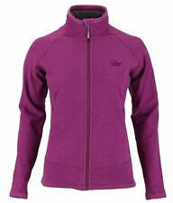 Womens Lowe Alpine Wineberry Burgundy Explorer Aleutian Fleece Jacket Size 10-12