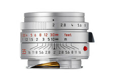 New arrival Leica Summicron-M 35mm f/2 ASPH 6 bit Silver #11674