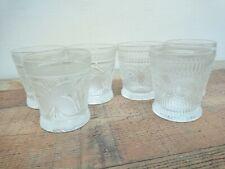 Royal Boch Bourgueil Glasses Set Of 6 Whiskey Glasses