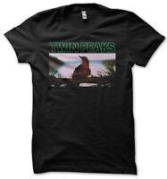 Twin Peaks Varied Thrush Men's Black T-Shirt S-XXL