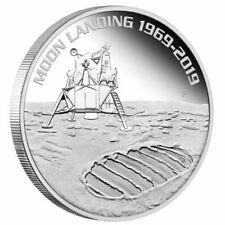 1 oz Silber, PP, 50 Jubiläum der Mondlandung, 2019