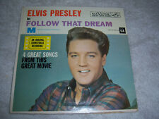 Elvis Presley FOLLOW THAT DREAM, RCA 4368 Rock n Roll -NEAR PERFECT VINYL tested