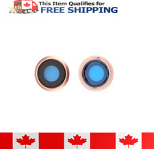 iPhone 8 Original GLASS Rear Camera Lens Ring Cover And Bezel Gold