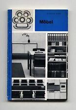 1967 Gerd Hatje MOBEL So Wohnen: Band 8 Eames KNOLL Gruppe 61 BERTOIA Jurg BALLY