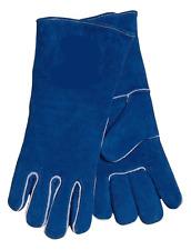 JTillman General Purpose Blue Leather Sock Lined Womens XXS Small Welding Gloves