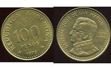 ARGENTINE  100 pesos  1978