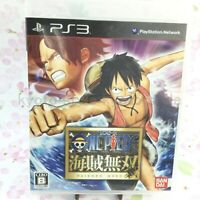 USED PS3 One Piece Kaizoku Musou PlayStation 3 BANDAI 94606 Japan import