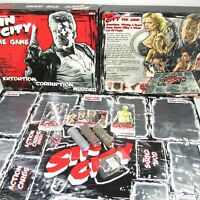 NECA Frank Millar's Sin City Board Game ~  100% Complete ~ SEALED GAME PIECES