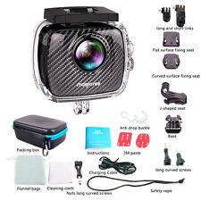 4K WIFI 360 P3 VR Video Panoramic Camera Dual Lens Action Camera&Waterproof Case