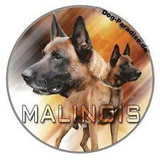 Aufkleber Motiv 2 Malinoi Malinois Belgischer Schäferhund Autoaufkleber Sticker