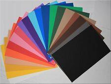 Moosgummi  in 20 verschiedenen Farben 20 cm x 30 cm x2 mm von Knorr prandell