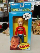 1991 THQ Home Alone Talking Kevin Macauley Culkin NRFB -NOT WORKING-