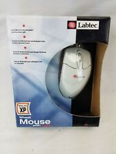 Labtec Wheel Mouse With Light Works With Windows XP Scroll Wheel