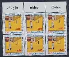 Bund 2035 postfrisch / Sechserblock Rand o. (309) ..............................