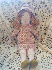 "Gorgeous Vintage 70s Handmade 21"" Doll High Quality *Rare*"