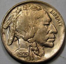 1925 Buffalo Nickel.   Gold, Magenta Tone, Unc Superb Gem BU. Nice Original