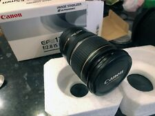 Canon EF-S 17-55mm F/2.8 IS USM Lens and Protective case
