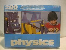 Vintage Physics 1979 Science Fair Set With 280 Experiments From Tandy      gm141