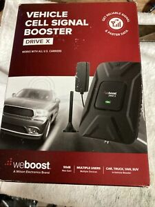 NEW weBoost Drive X Cell Phone Signal Booster Kit For Car Truck SUV (475021)