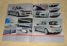 OPEL Astra H Hatch & Irmscher Estate 2005 Modelos Inc aleaciones, bodykits Etc,