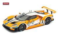 """Carrera FORD GT RACE CAR """"NO.02"""" ohne Decoder und Licht aus 30786"""