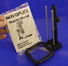 Balgen Novoflex Macro stand Ständer Makro Ständer für Balgen TOMS-CAMERA-LADEN