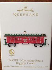HALLMARK 2012 LIONEL NUTCRACKER ROUTE BAGGAGE COACH