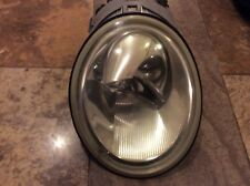 VW 98-05 BEETLE RH Passenger Side Headlight Lens & Housing Assembly FLAW READ