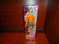 New 2018 / 2019 Barbie Fashionistas Doll 107 Shaved Head Malibu Platinum Blonde