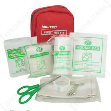 Emergency Mini First Aid Pack Pouch - Red - Outdoors Hiking Trekking Camping