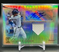 2009 Topps Tribute RYAN BRAUN Game-Used Jersey Patch Auto SP 25/99 #TAR-RB4