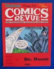 1992 COMICS REVIEW #71 FN+ Dr Doom Tarzan Krazy Kat Flash Gordon