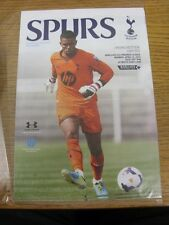 14/04/2014 Tottenham Hotspur U21 v Manchester United U21  (4 Pages). Thanks for