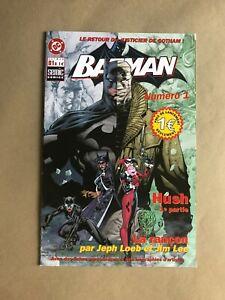 BATMAN 608 RETAILER INCENTIVE FRENCH EXCLUSIVE VARIANT RRP JIM LEE JEPH LOEB
