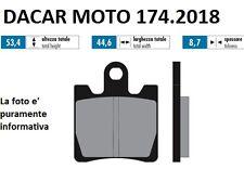 174.2018 PLAQUETTE DE FREIN SINTERED POLINI SYM : GTS-RV 250