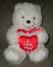 Stuffed plush animal bear toy Valentine boys girls 3+ years 1999