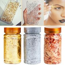 Nail art Painting Foil Flakes for Resin Imitation Gold Metallic Crafts Jewelry