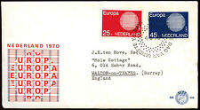 Netherlands 1970 Europa FDC First Day Cover #C40286