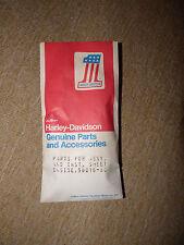 NOS OEM HARLEY DAVIDSON FLT WINDSHIELD INSTALLATION HARDWARE 1980 - 81
