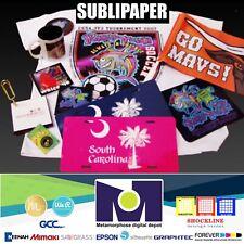 25sh 85x11 Sublimation Paper Iron On Heat Press Transfer Paper Print T Shirt