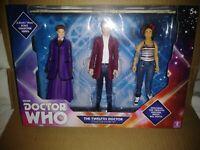 Doctor Dr Who Twelfth Collectors Set B & M Exclusive 3 Pack Missy Bill NIB
