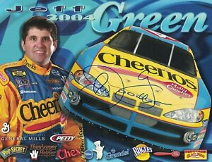 Jeff Green Signed Autographed 8 x 10 Photo Nascar Driver